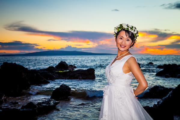 Shoko and Takeshi wedding