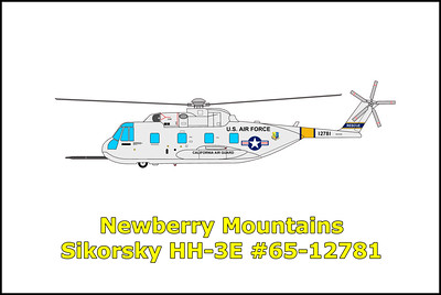 Newberry Mountains Sikorsky HH-3E #65-12781 11/30/12