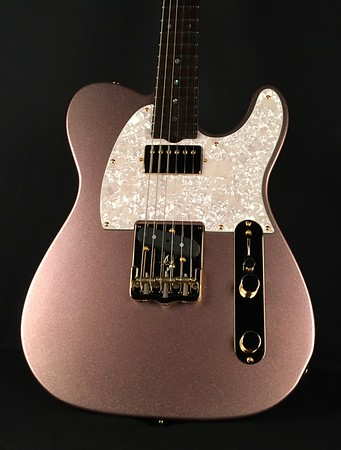 NOS Vintage T #3950, Pink Sparkle, Grosh T/H Pickups