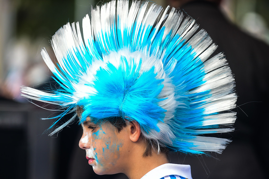 . Fans arrive prior to the 2014 FIFA World Cup Brazil Group F match between Nigeria and Argentina at Beira Rio Stadium on June 25, 2014 in Porto Alegre, Brazil. (Photo by Vinicius Costa/ Getty Images)