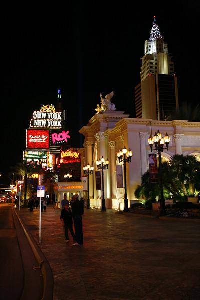 New York, New York Hotel / Casino, Las Vegas, NV