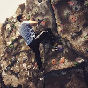 Crags Climbing 9Jan16