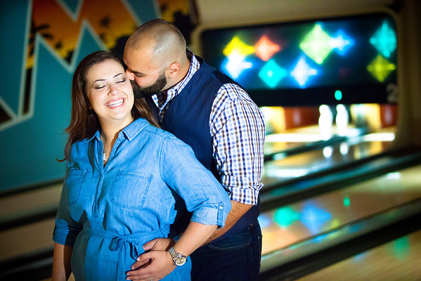 Tony and Sarah Bowling Engagement Session