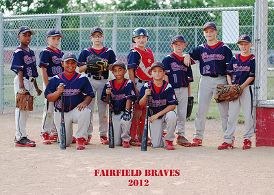 Fairfield Braves Baseball 2012