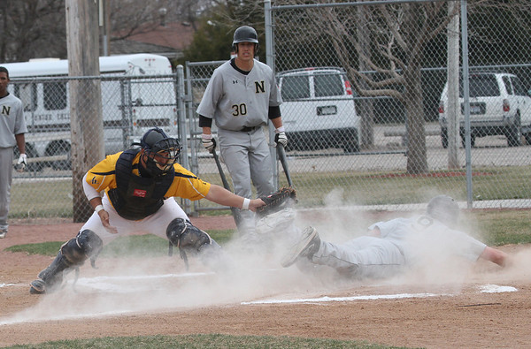 baseball with njc on March 31