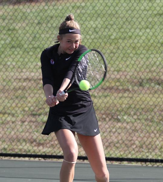 Gardner-Webb's Women's Tennis team takes on Davidson.