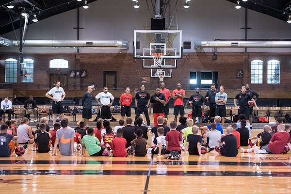 Nick Nurse Shooting Camp 08/25/18