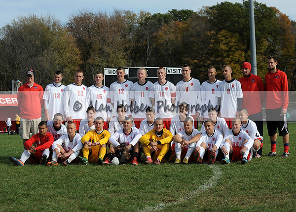 Varsity soccer - Dexter at Mason - Oct 22