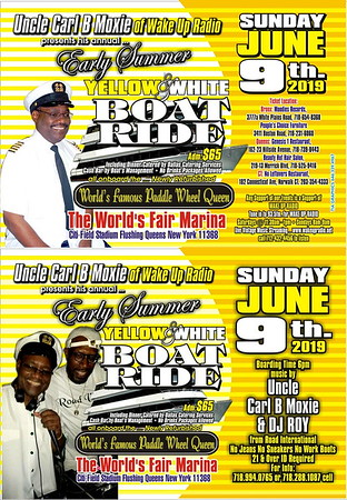 "CARL MOXIE ""YELLOW & WHITE BOAT RIDE 2019""(21)"