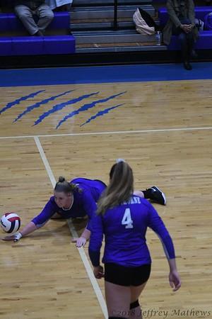 Hawthorne HS Volleyball 2018