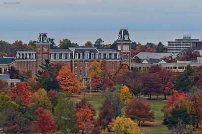 """""""Old Main"""" University of Arkansas Fayetteville, AR"""