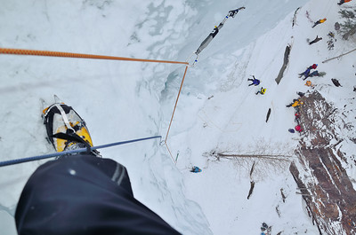 Ouray Colorado - ice climbing
