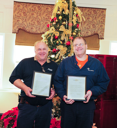 101 Club Award, Brian Focht and Keith Thomas