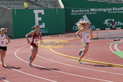 800M Prelims Women - 2013 Horizon League Outdoor Championships