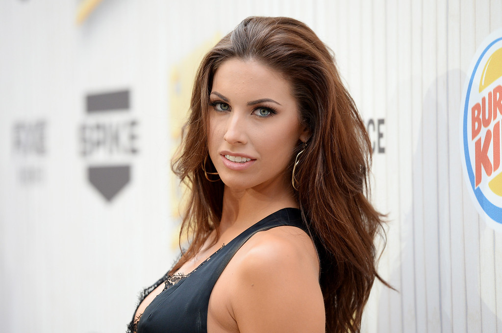 ". CULVER CITY, CA - JUNE 08:  Model Katherine Webb attends Spike TV\'s ""Guys Choice 2013\"" at Sony Pictures Studios on June 8, 2013 in Culver City, California.  (Photo by Jason Merritt/Getty Images for Spike TV)"