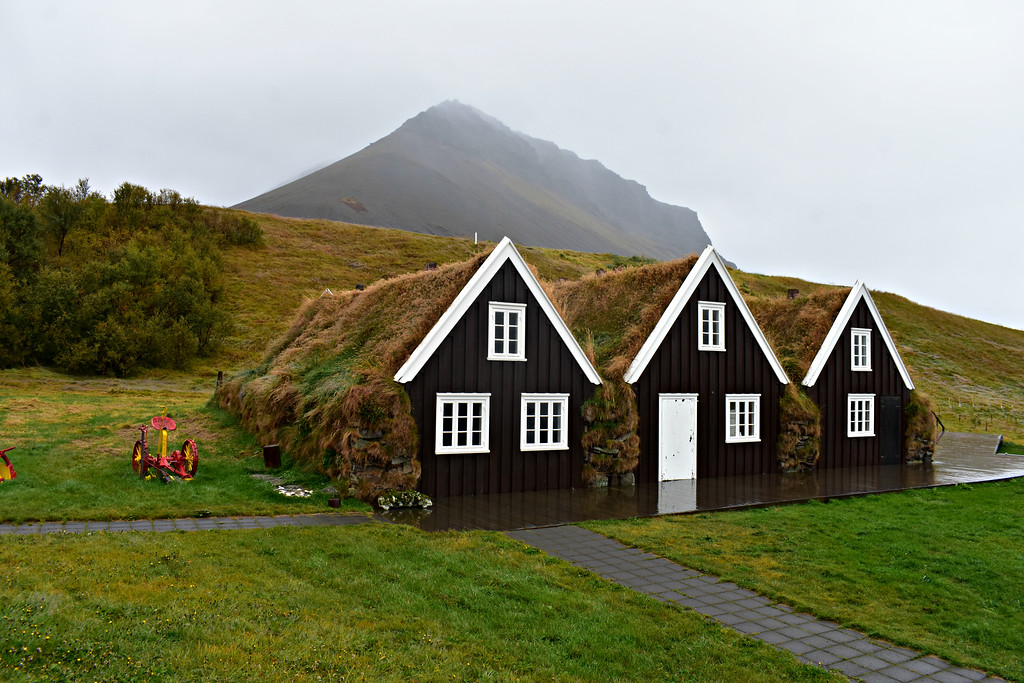 Hrafnseyri Museum in West Fjords Iceland