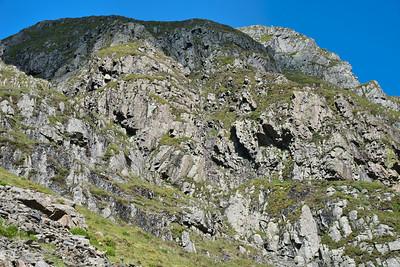 Tarn Crag and Striding Edge