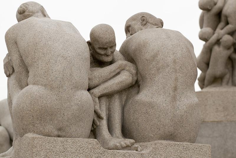 Vigeland sculptures - Oslo