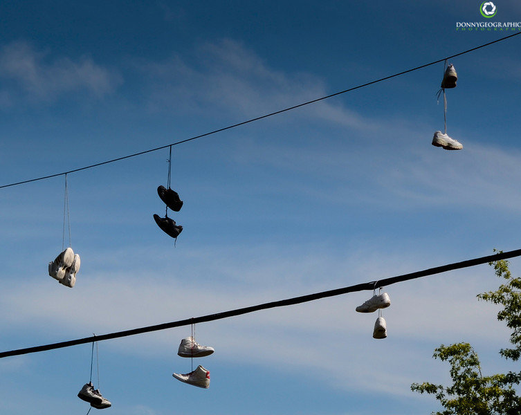 flying shoes in North Vancouver