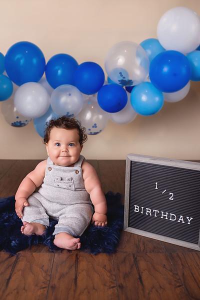 Logan 6 Month Milestone