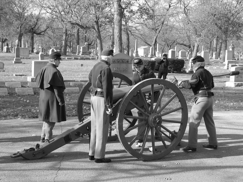 Preparation of cannon