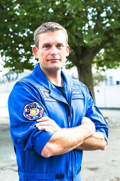 Andreas Mogensen, astronaut, Copenhagen, 2014