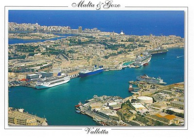 Malta With Ships