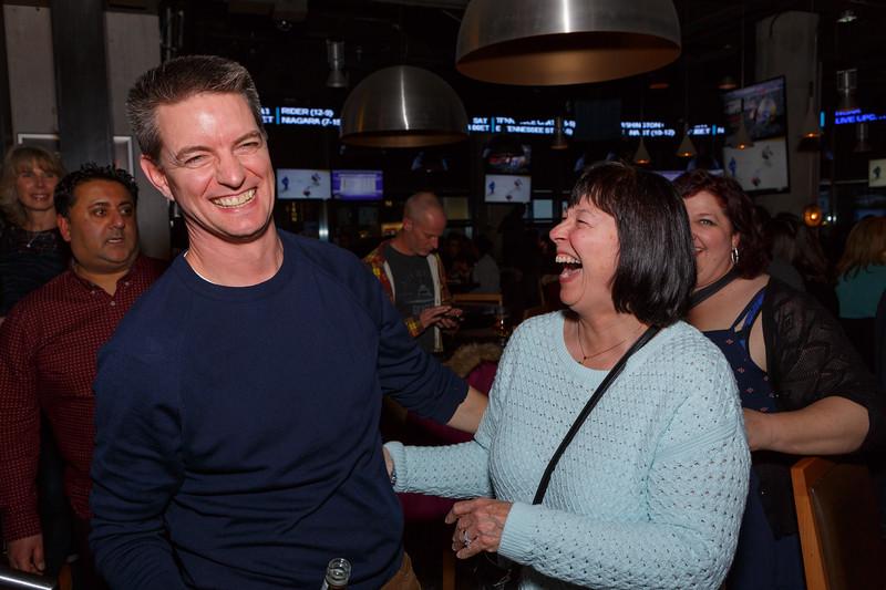 Chris Duffy Retirement Party