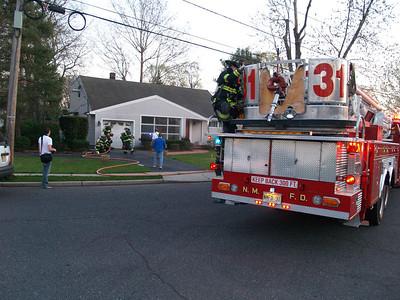 04-17-08 New Milford, NJ - Garage Fire
