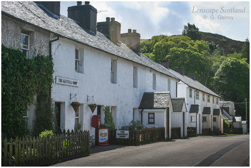 Glenelg village street and shop