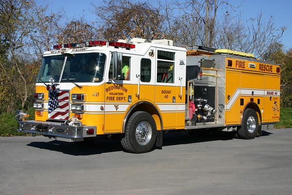 Company 40 - Bedington Fire Department (main station)