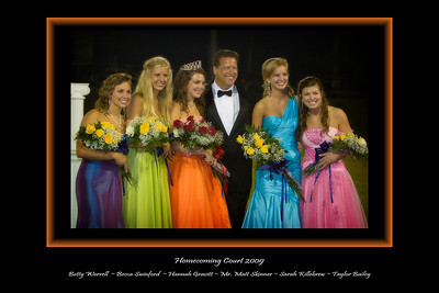 Homecoming Court Print