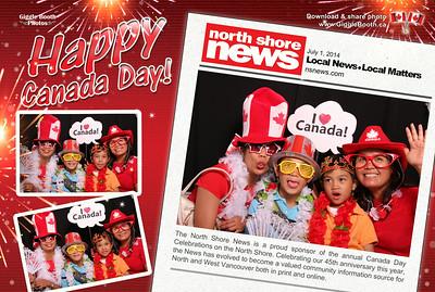 North Shore News - Canada Day Celebration 2014