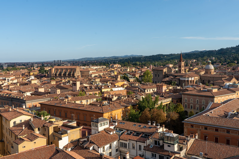 View from Basilica di San Petronio rooftop