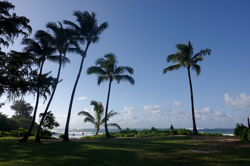 Overlooking Poipu Beach, on the south side of Kauai