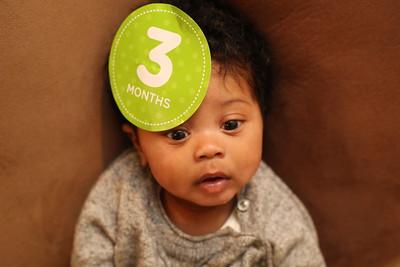 Noah's 3 Month Pictures