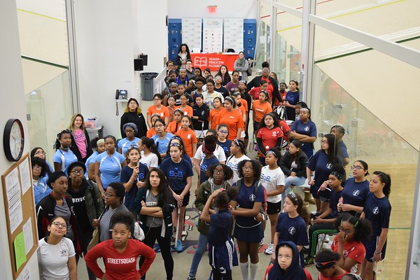 Girls Tournament at StreetSquash - March 2019