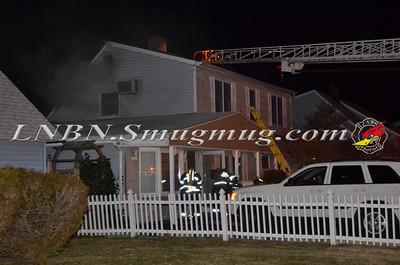 Wantagh F.D. House Fire 26 Sunset Ln. 3-14-13