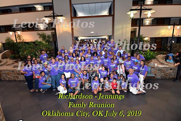 Richardson - Jennings Family Reunion 2019
