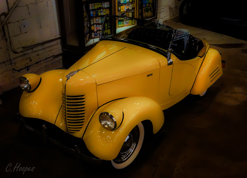 Yellow Convertible