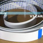 SKU: V3-CAR/XL, Extra Long Carriage Data Cable for V-Smart V3- 1660 Vinyl Cutter and Shorter Version