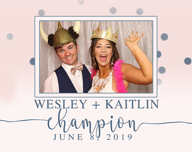 Wesley and Kaitlin Champion
