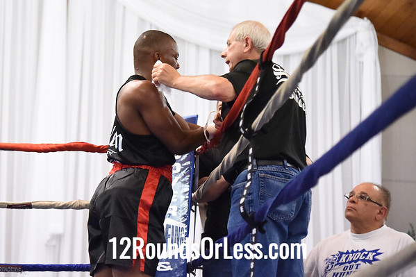Bout 4 Mardell Halas, Salem -vs- Anthony Alexander, Campbell, 152 lbs.