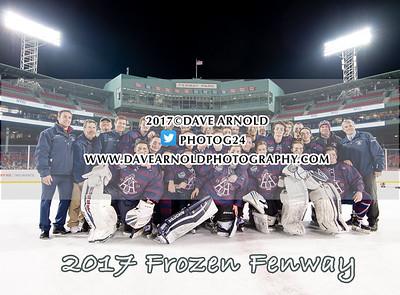 1/11/2017 - Boys Varsity Hockey - Frozen Fenway - Tabor vs Belmont Hill