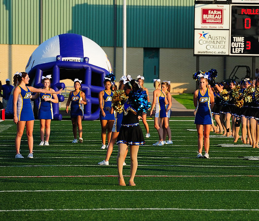 PHS Cheer and Flag Runners 2011-12