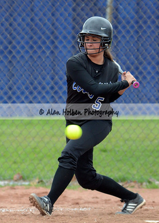Varsity Softball - Mason at Lansing Catholic - April 25