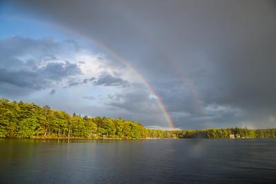 Double Rainbow Night
