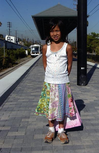 2005, Gold Line Girl