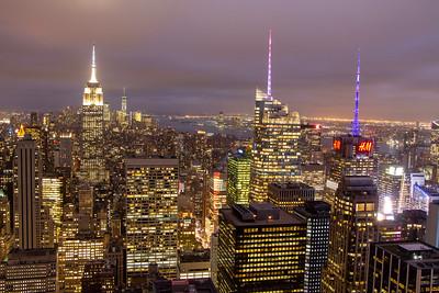 New York City October 2017