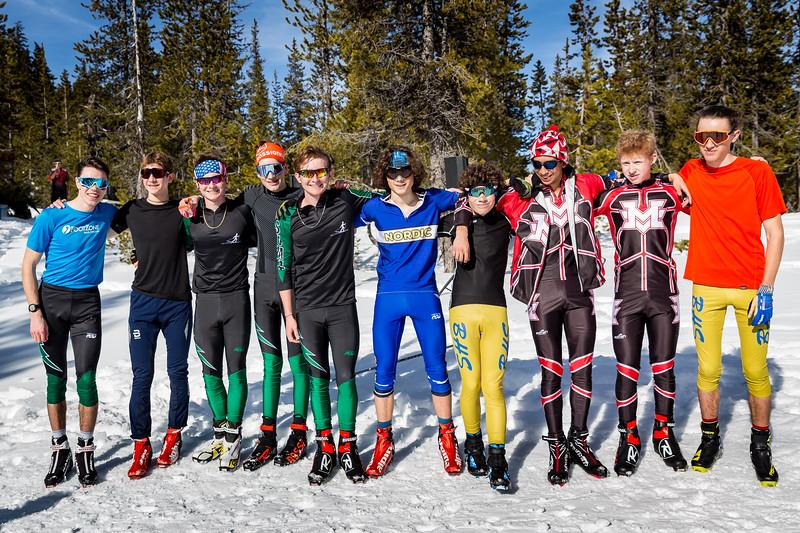 XC Oregon High School Invitational 5k skate race